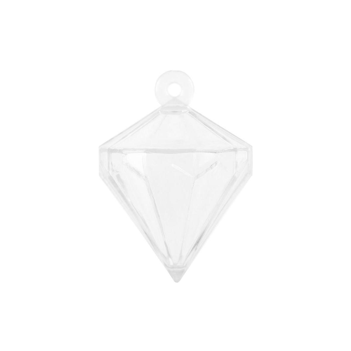 Contenant dragées Diamant x4