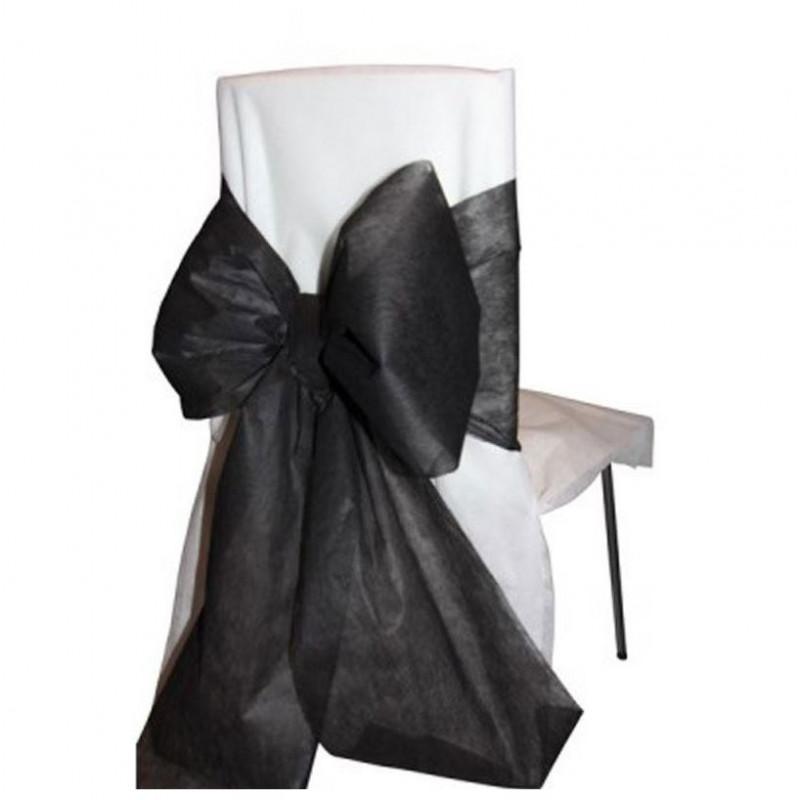 6x noeud pour chaise noir. Black Bedroom Furniture Sets. Home Design Ideas