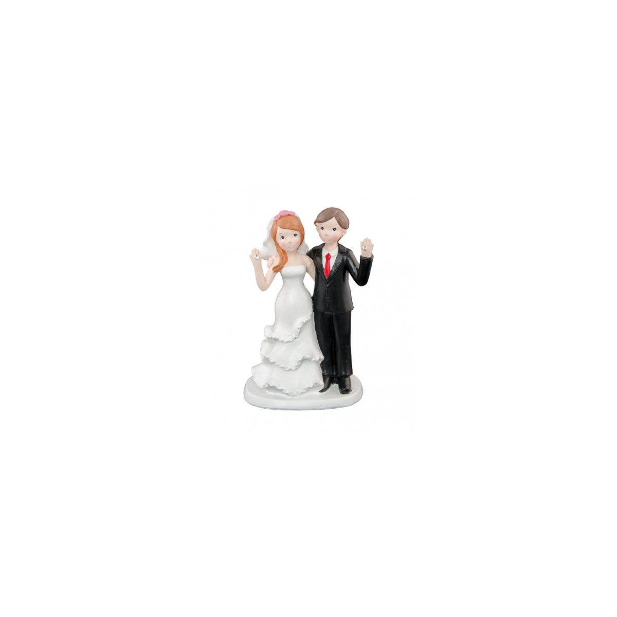 figurine mariage diamant