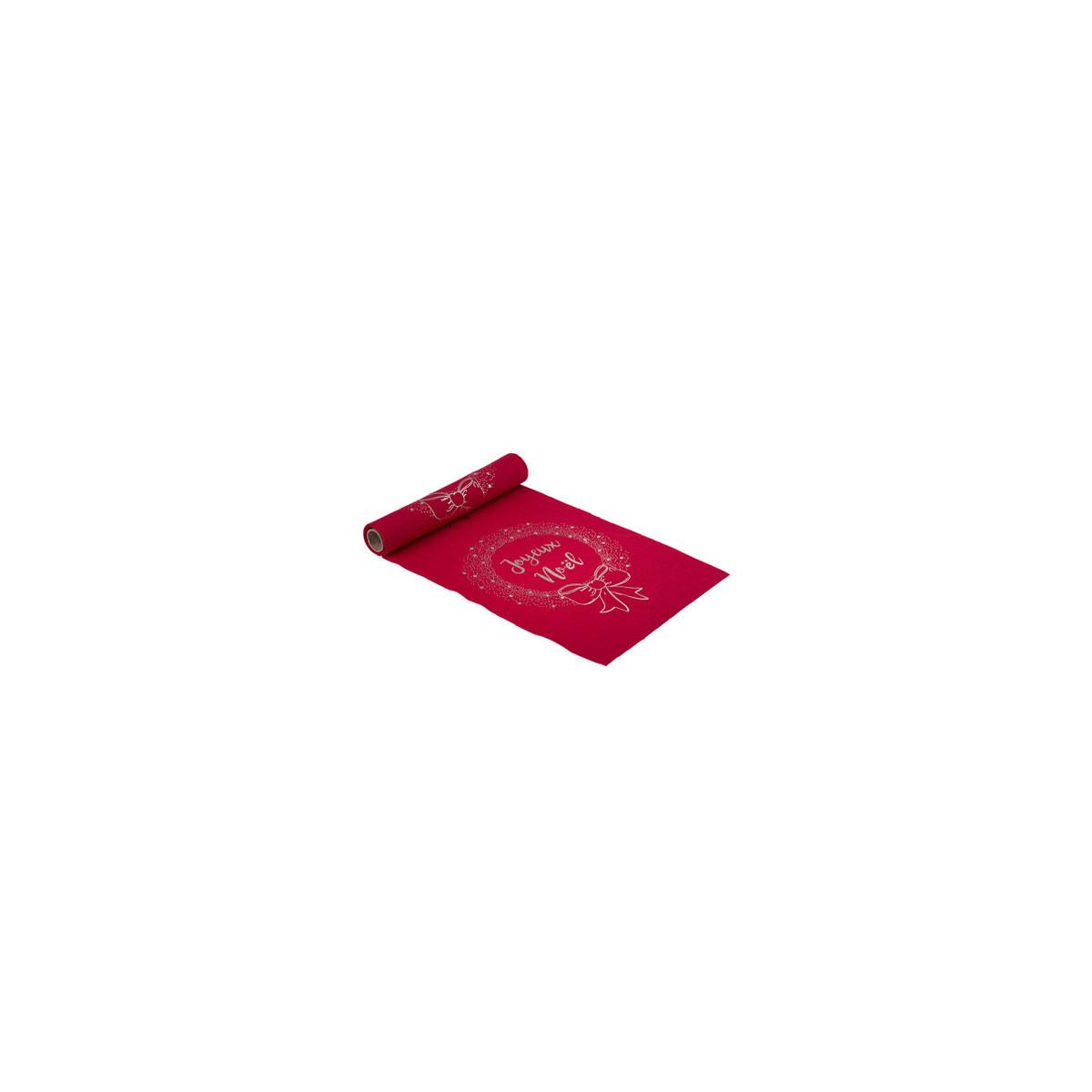 chemin-table-noel-rouge
