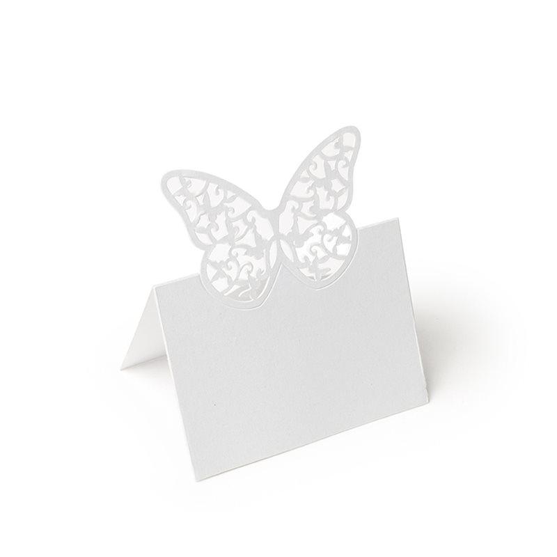 Marque place papillon x20