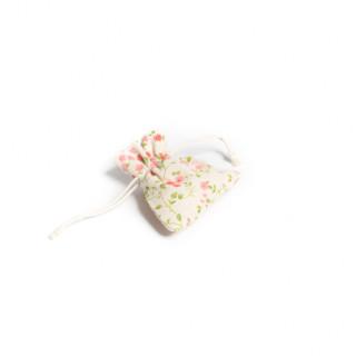5x Sachet Dragées en lin à fleurs Liberty