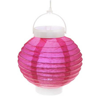 Lampion Led Fuchsia
