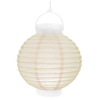 Lampion Led Ivoire