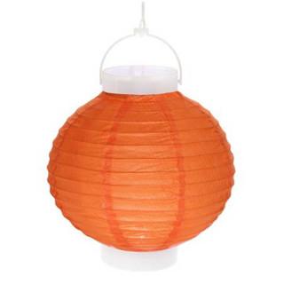 Lampion Led Orange