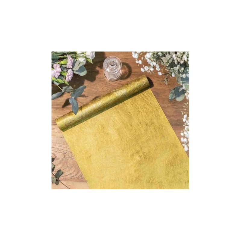 chemin-de-table-or