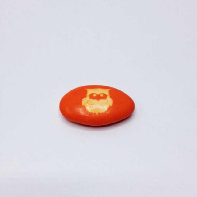 Dragées Hiboux 250 g orange