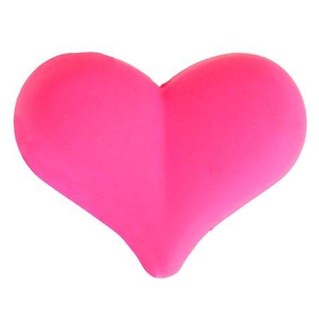 Perle cœur Fluo