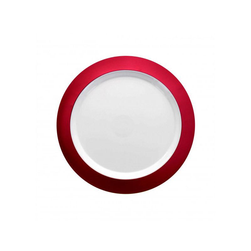 Assiette rouge 6 pcs 19 cm