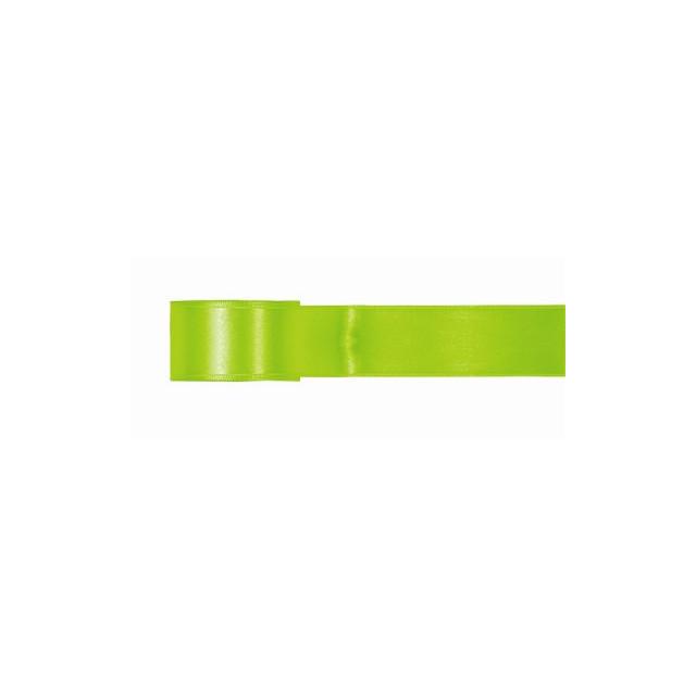 Ruban Satin Vert 5m x 25mm