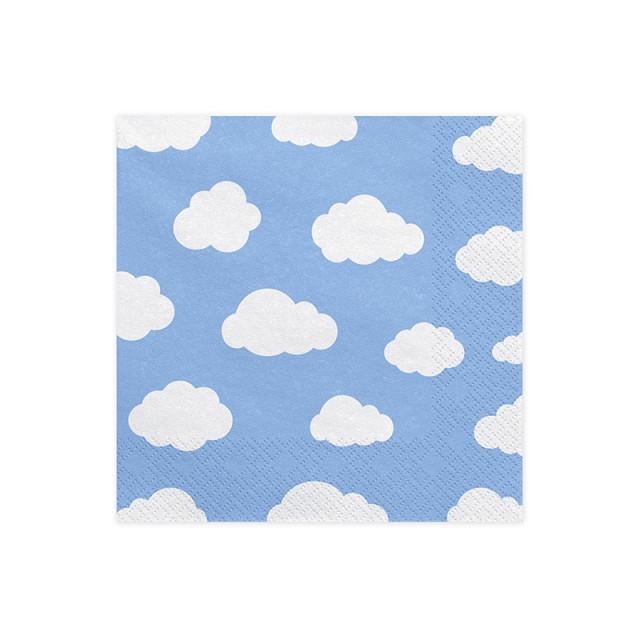 serviette-jetable-nuage