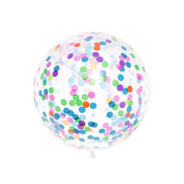 Ballon Confettis 1 mètre