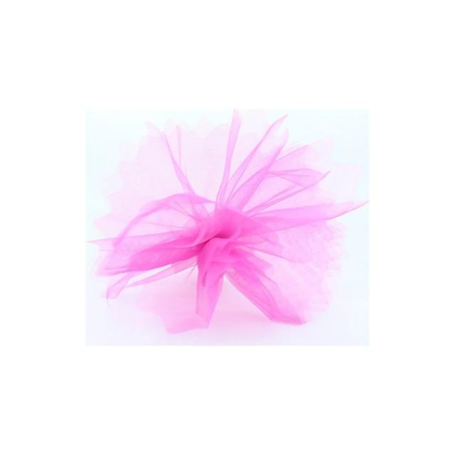 Voile Nacré Festonne x25 Rose