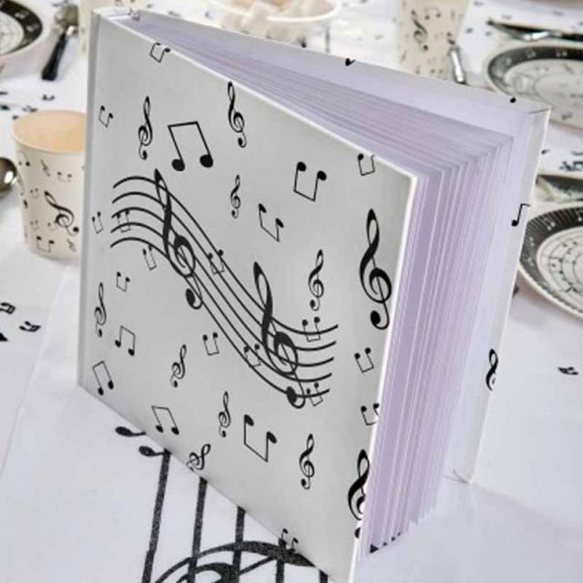 Livre d'Or Musique 25 pages