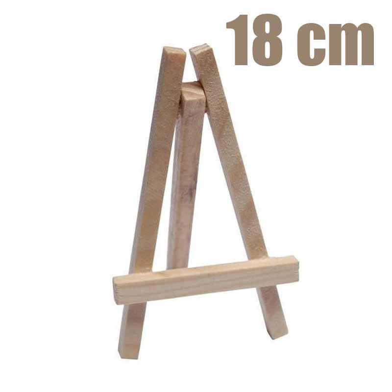 Grand chevalet en bois 18 cm