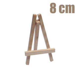 x12 Mini chevalet bois naturel 8 cm