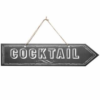 """Flèche signalétique """"cocktail"""""""