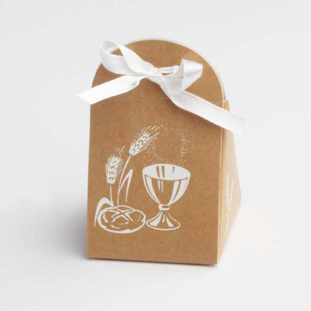 boite-dragées-communion-carton-kraft