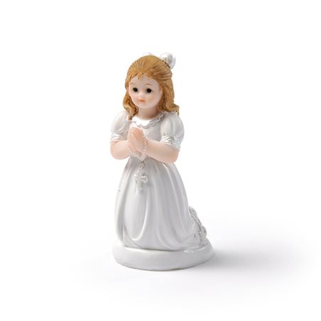 Figurine communion fille