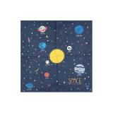 serviette-theme-planete