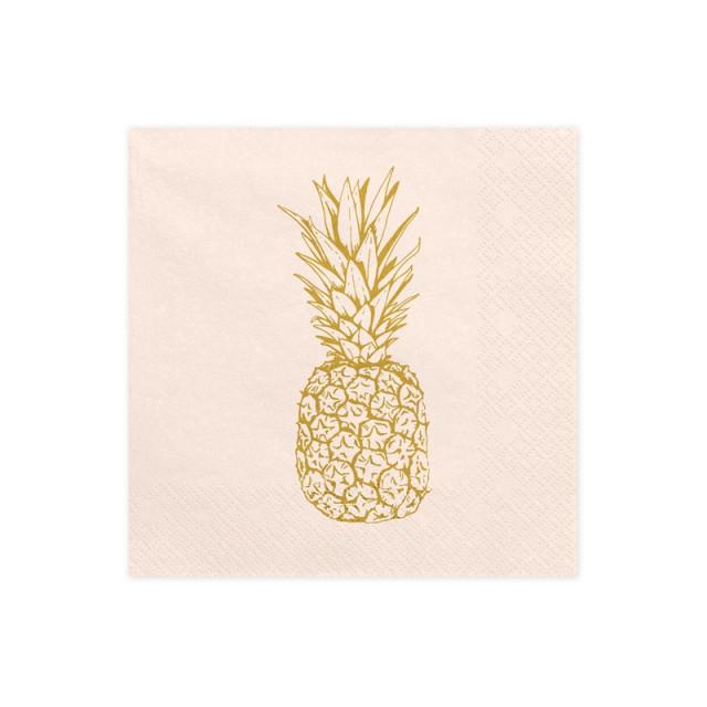 serviette-theme-tropicale