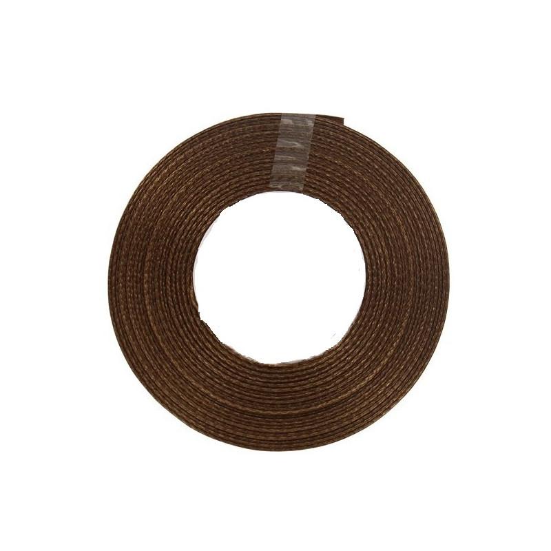 ruban-satin-chocolat-25m