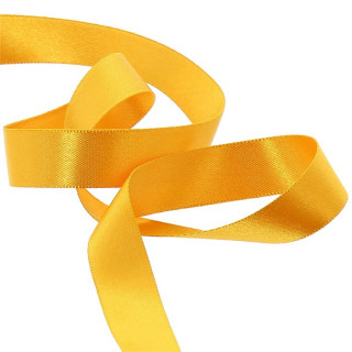 Ruban Satin Jaune 6mm - 25m