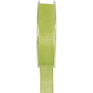 Ruban Organdi vert- 7 mm