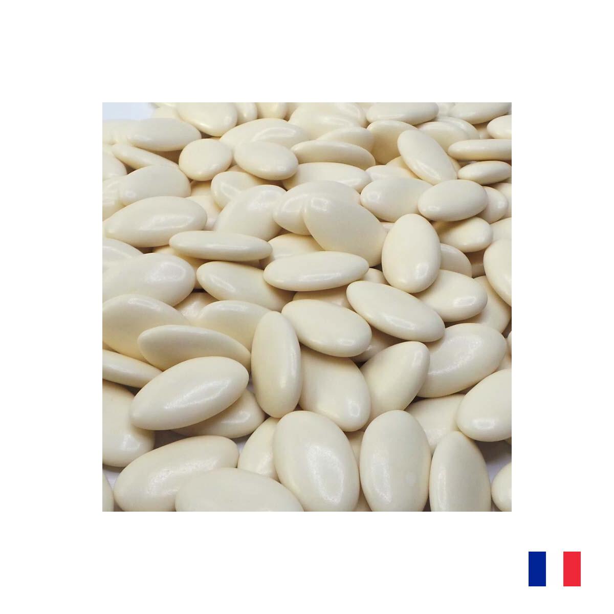 1kg Dragées Chocolat Ivoire