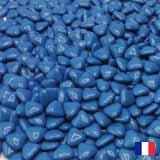 1kg dragées chocolat coeur Bleu Marine