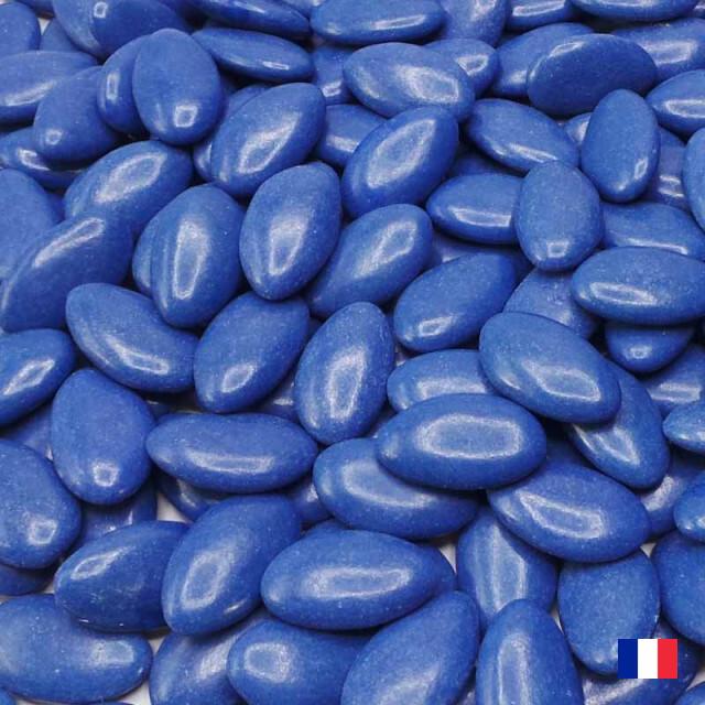 Dragées Chocolat Bleu Marine 1kg