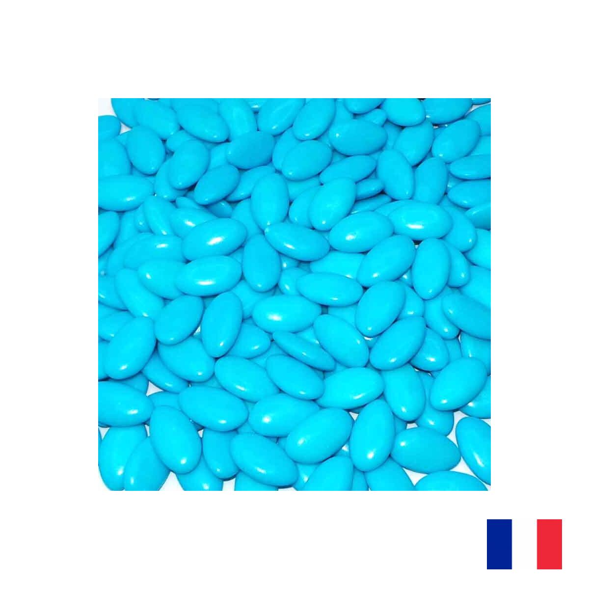 1kg Dragées Chocolat - Turquoise
