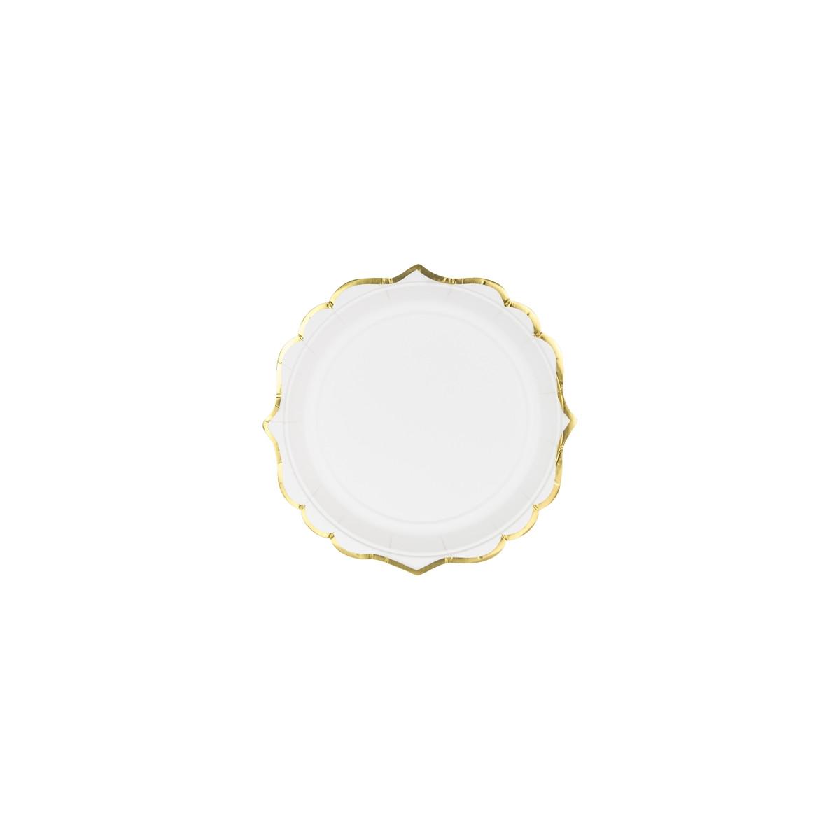 assiette-carton-blanc-et-or