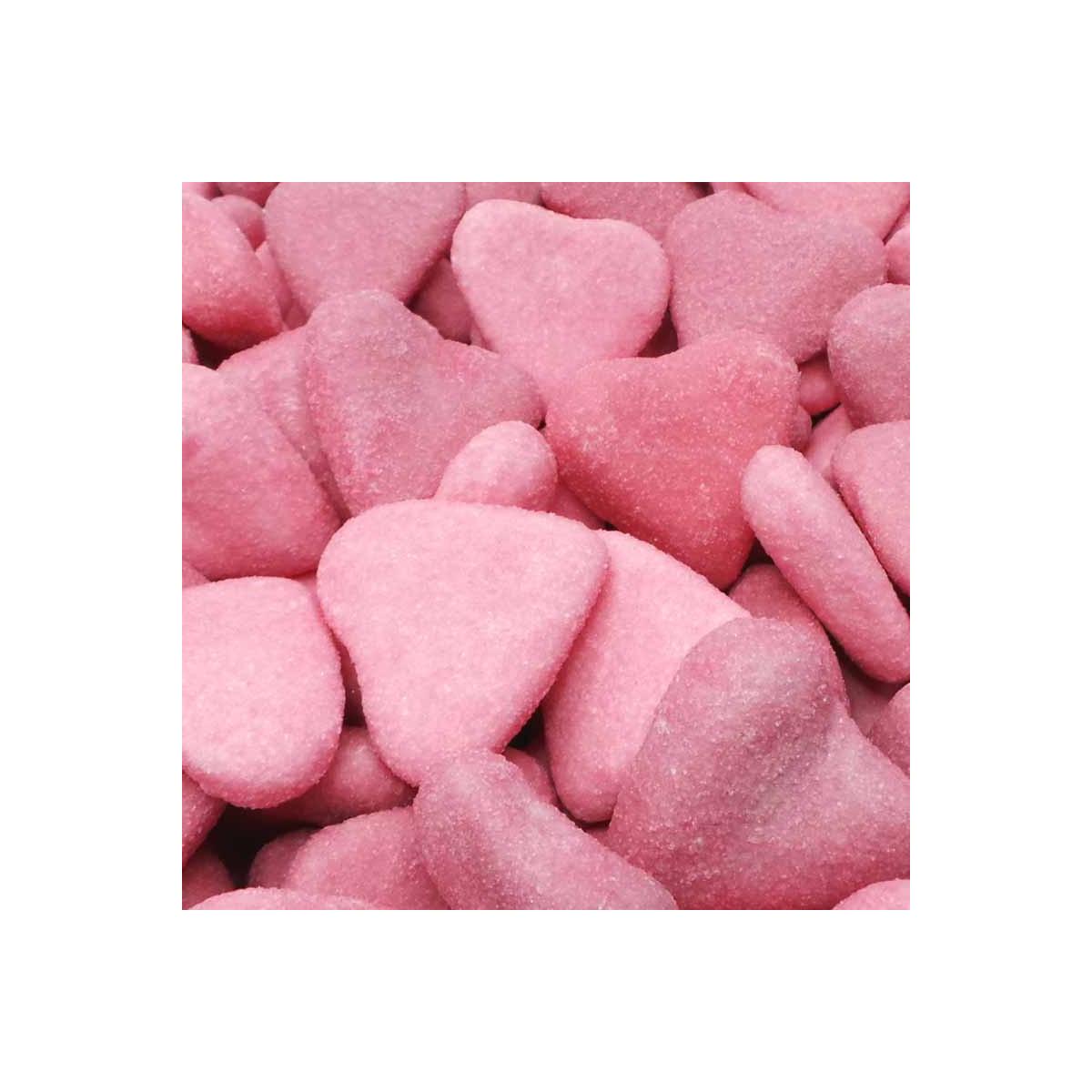 Bonbon Coeur Rose et Violet 1.5kg