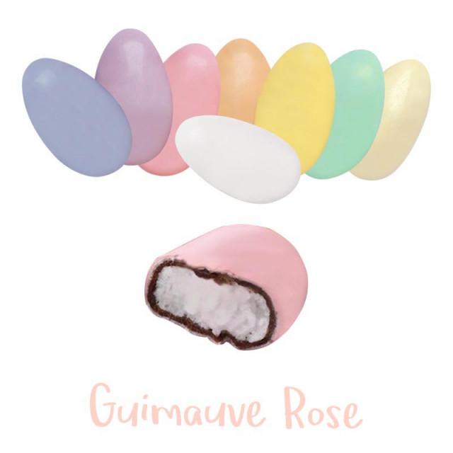 Dragées Guimauve Pecou - ROSE - 1kg