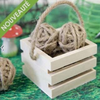 Cagette Bois Dragées x1