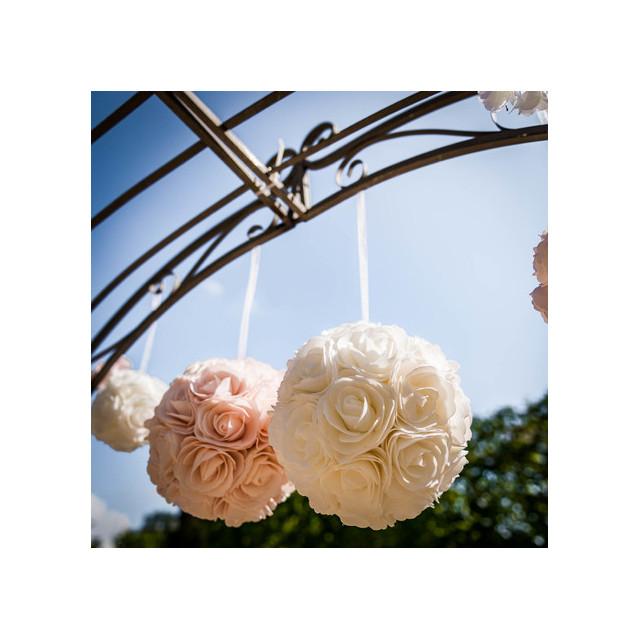 boule-de-roses-mariage