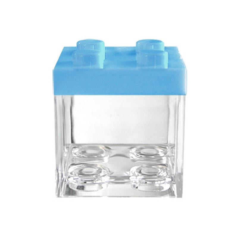 Boite Dragées Lego Bleu Ciel