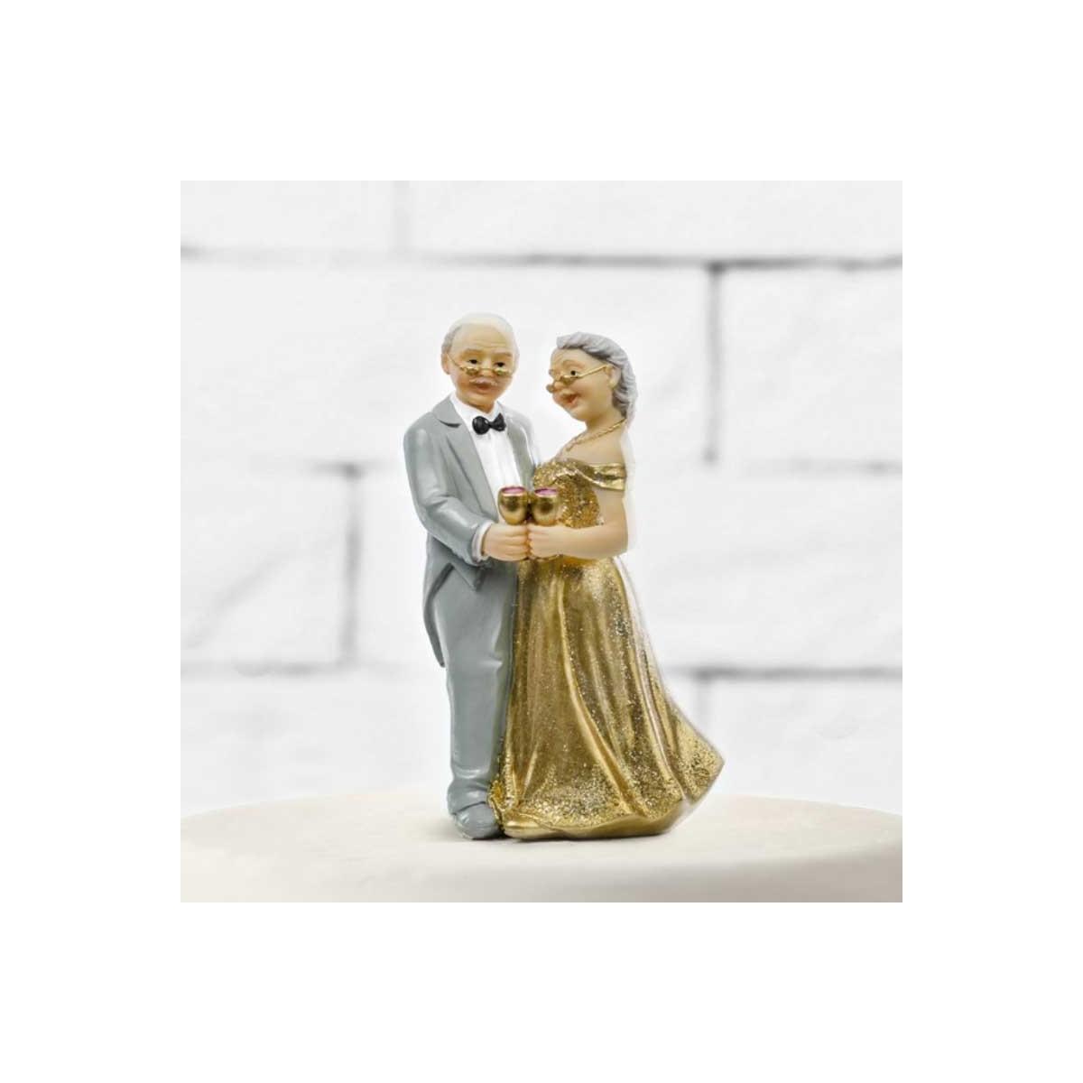 Figurine Mariage Personnes Agées