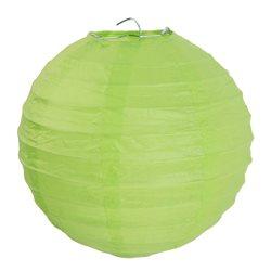 2 Lanternes papier vert