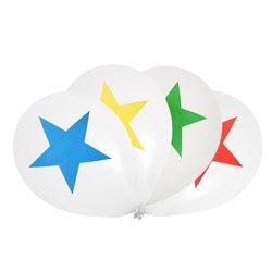 8 ballons étoile