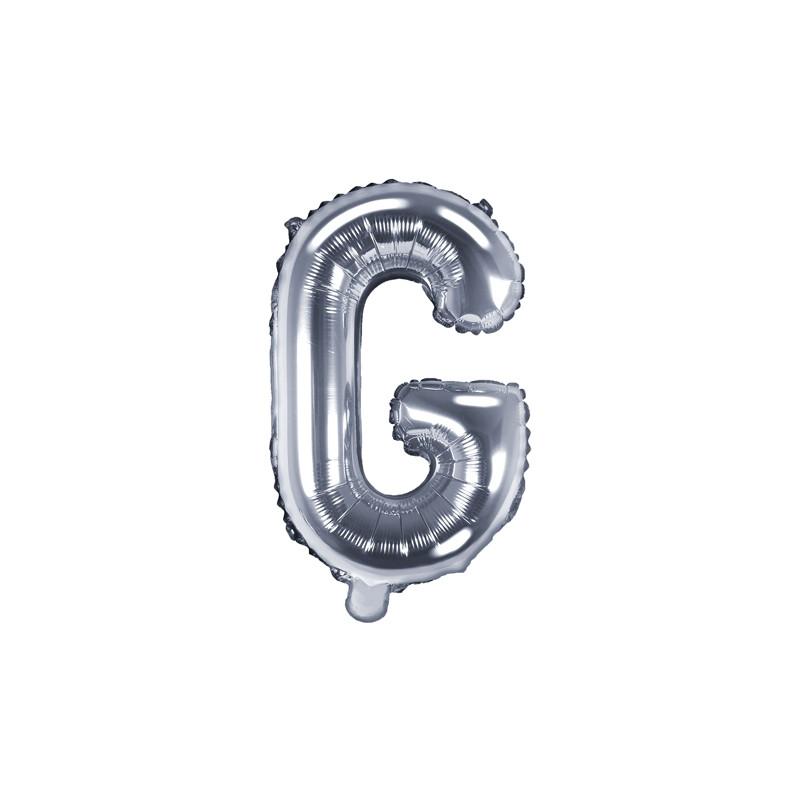 """Ballon Lettre """"G"""" Mylar"""