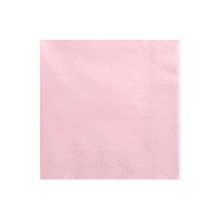 serviette-papier-rose