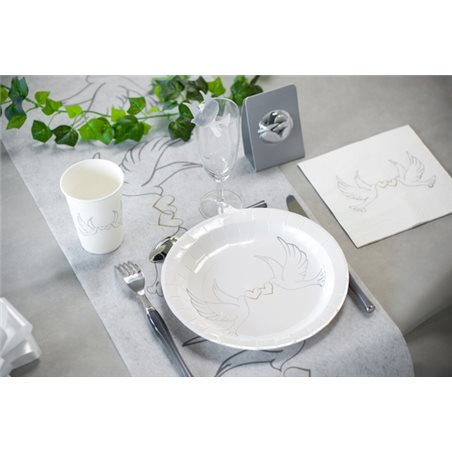 ASSIETTE MARIAGE COLOMBES