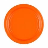 x8 Assiettes Oranges