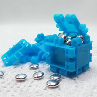 Boite Dragées Construction Lego Bleu