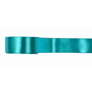 Ruban Satin Turquoise 25mm x 5 m