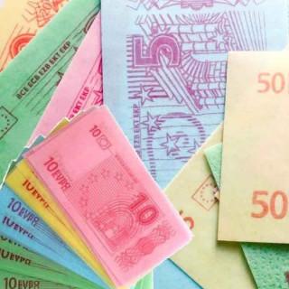 x400 Bonbons Billets Euro
