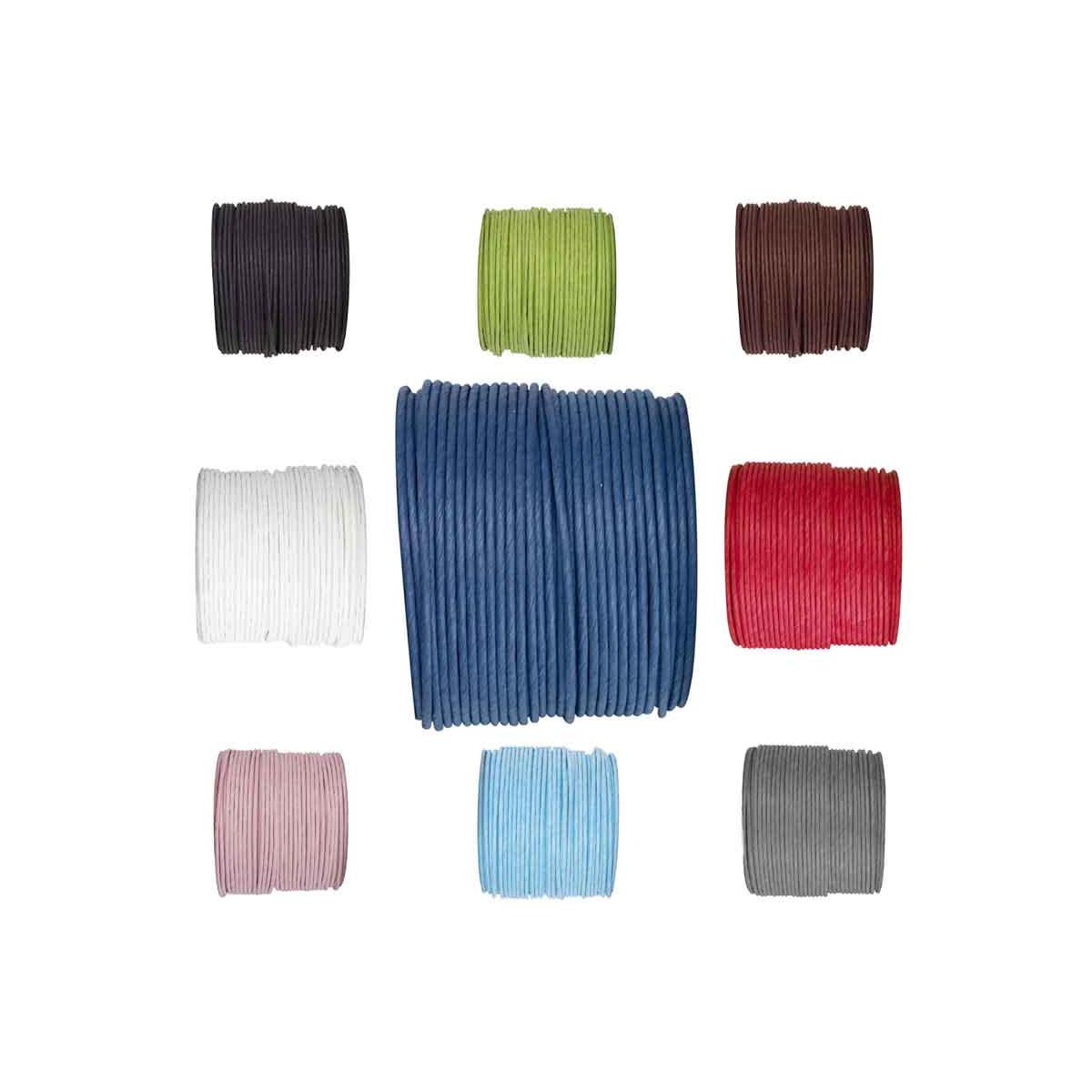 Cordon laitonné - couleur au choix