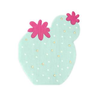 x20 Serviettes Cactus
